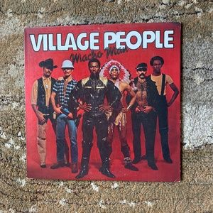 Other - 🖤3/$30!🖤 Village People, Macho Man, 1978 EUC!